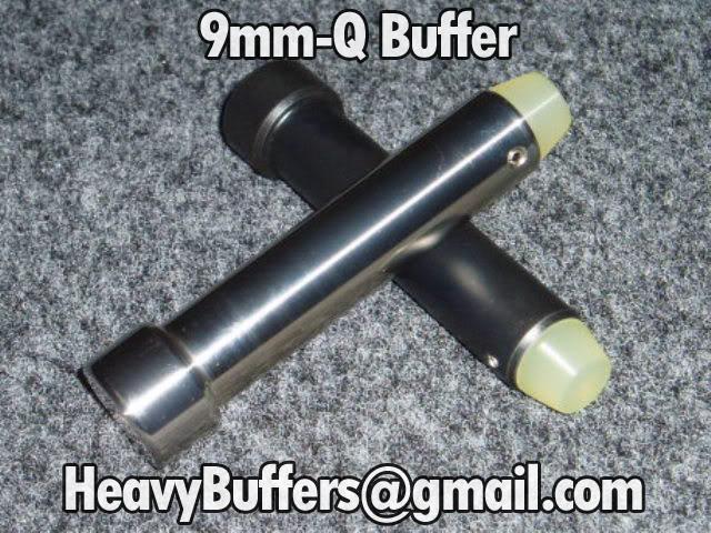 Heavy Buffers   Products   9mm Q AR15 Carbine Buffer